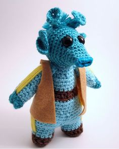 Greedo Amigurumi from Flickr user BackyardBirderWa #StarWars