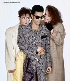 Prince with Wendy and Lisa....................