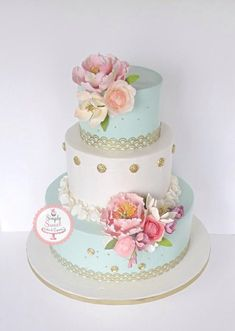 EDITOR'S CHOICE (08/26/2014) Vintage and feminine by SimplySweetCakes View details here: http://cakesdecor.com/cakes/153091-vintage-and-feminine