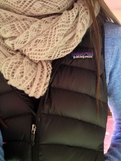 puffer vest & chunky scarf... basically what very yuppie wheres to stockshows
