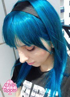 Directions - Lagoon Blue hair