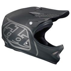 Troy Lee Designs TLD D2 Cycling MTB Midnight 2 Flat Matte Black Helmet M / L