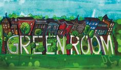 I designed this business card for Greenroom DC, a small landscaping company.
