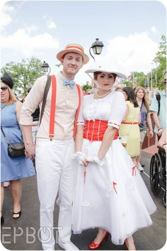 Mary Poppins Disneybounding at WDW's Dapper Day