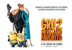 """Sorteo de libros y entradas de cine para """"Gru 2″"""