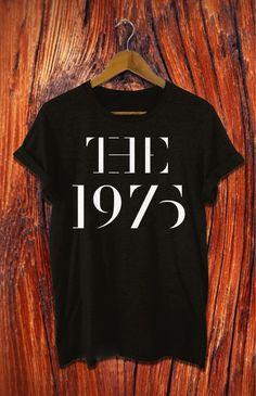 the 1975 shirt the 1975 band shirt new design black by Kanuragan