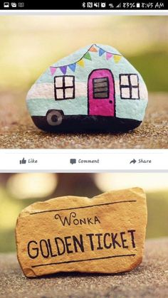 Best Easy Painted Rocks Ideas For Beginners (Rock Painting Inspirational & Stone. - Best Easy Painted Rocks Ideas For Beginners (Rock Painting Inspirational & Stone Art) - Rock Painting Patterns, Rock Painting Ideas Easy, Rock Painting Designs, Paint Designs, Rock Painting Kids, Easy Painting For Kids, Pebble Painting, Pebble Art, Stone Painting