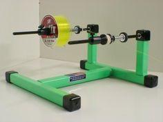 Super Spooler line spool holder Green