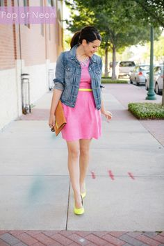 Ways to Wear : Pops Of Neon Yellow