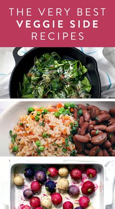 The Very Best Veggie Side Recipes. This Thanksgiving step up your side dishes with some of these easy to execute ideas.