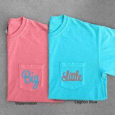 Big Little Sorority Sorority Shirts Big Little by ShopSimpleJoy