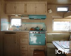 Vintage Camper Interior Designs | parking lot filled with bright and shiny Airstream trailers ...