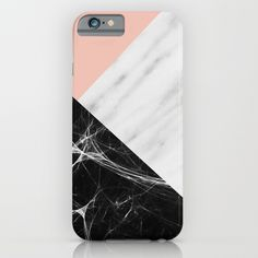 Marble geometric iPhone & iPod Case, marble Iphone cover, marble trend, marble fashion, marble phone, marble accessory