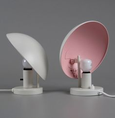 // Poul Henningsen; Enameled Metal 'PH-Hat' Wall Lights for Louis Poulsen, 1961.