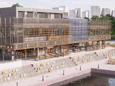 George heeft een nieuwe locatie, George Marina Amsterdam aan het water. Verwacht seafood, wijn, George klassiekers en een mooie zonsondergang!