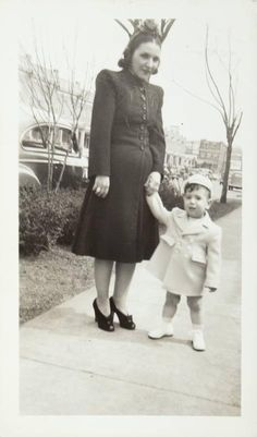 Frank and mother