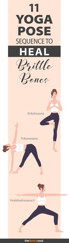 11 Yoga Poses For Osteoporosis and Bone Density Loss: Backed by Science to Heal Brittle Bones