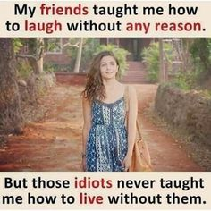 Quotes friendship funny woman girls 54 ideas for 2019 Best Friend Quotes Funny, Besties Quotes, Funny Quotes, Funny Memes, Bestfriends, Bffs, Funny Statuses, Friend Memes, Sister Quotes