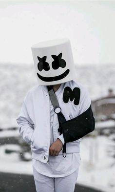 Marshmello hurt his arm Dj Alan Walker, Allen Walker, Marshmallow Pictures, Marshmello Wallpapers, Nothing But The Beat, Marshmello Dj, Big Animals, Best Dj, Song Artists