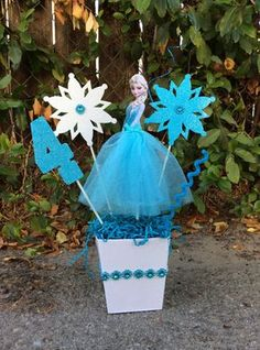 Disney Frozen Elsa Birthday CenterPiece