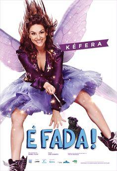 É Fada, filme estrelado pela youtuber Kéfera Buchmann, ganhou seu primeiro cartaz e trailer.