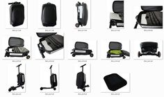 Coolpeds: Worlds First Briefcase Electric Scooter Scooter Design, Electric Scooter, Tech Gadgets, Briefcase, First World, High Tech Gadgets, Gadgets