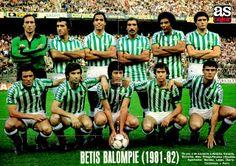 EQUIPOS DE FÚTBOL: REAL BETIS BALOMPIÉ 1981-82
