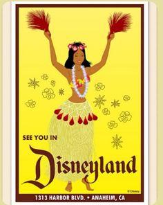 See you in Disneyland. Disneyland California, Vintage Disneyland, Disneyland Resort, Vintage Disney Posters, Vintage Comics, Disney Parks, Walt Disney, Disney Concept Art, Disney Images