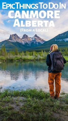 Things to do in the Canadian Rockies / Canmore Travel Guide / Hiking in Canmore Mountains / Autumn in Canmore / Summer in Canmore / Winter in Canmore / Spring in Canmore Backpacking Canada, Canada Travel, Canada Trip, Places To Travel, Travel Destinations, Places To Go, Family Adventure, Adventure Travel, Travel Couple