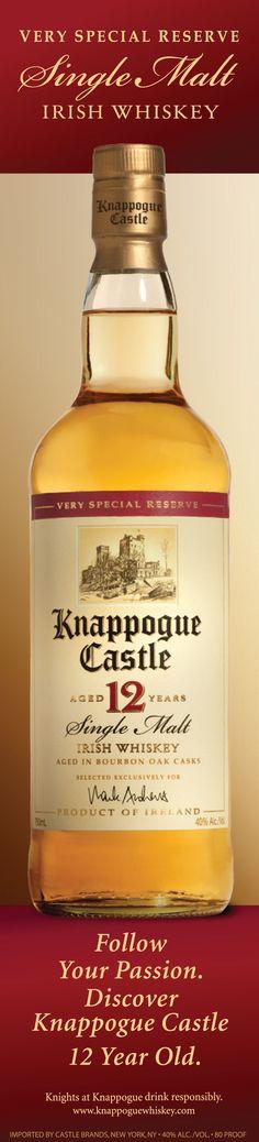 Knappogue Whiskey. ...