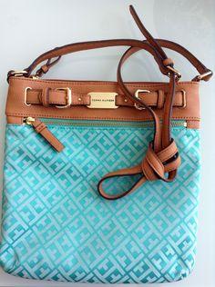 Blue Tote Bag Tommy Hilfiger / Love it