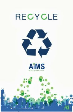 example of recycling poster