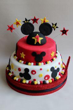 Mickey Cake by Violeta Glace