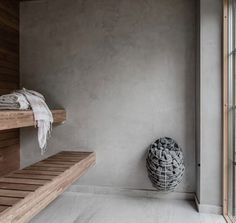 Sauna by Swedesigngroup - - Sauna House, Sauna Room, Scandinavian Saunas, Dream Home Design, House Design, Modern Saunas, Sauna Design, Beton Design, Interior And Exterior