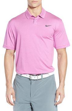 4fc36dfd1 Nike 'TW Control Stripe' Dri-FIT Stretch Golf Polo Mens Golf, Nike