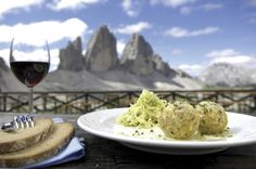 Enjoy #fresh cooked #local food whilst sat with views of the #mountains.