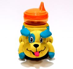 {Buster the Puppy Dog} Fun meets functional with this insulated cup holder. Keep drinks cold and personalized at the park, daycare, pool, etc. Designed with little hands in mind, our cups are easy for kids to hold and to carry. We make hydrating fun! #dog #puppy #gift #kids #hydrate  www.zoomoos.com