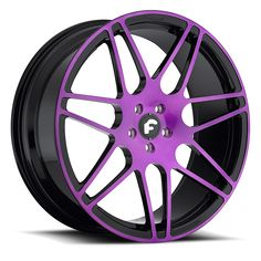 purple M&M | PINZETTE-M Purple/Black Wheel - Forgiato