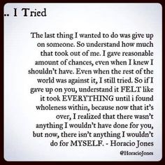 I tried. And now it's time to do ME!! #11yrsEnough