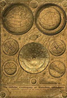 ancient map of the universe