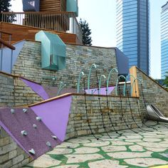 Playground at Zorlu Centre by Carve