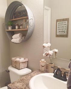 """1,277 Likes, 65 Comments - Amanda (@86th_lane) on Instagram: """"Sharing a picture of our powder room (why is it called that?!). Last week I painted over the dark…"""""""