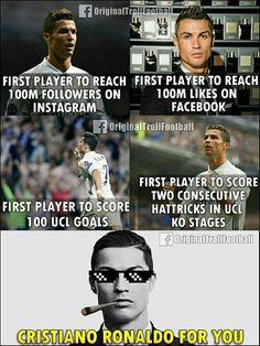 """Just Cristiano Ronaldo Things  """