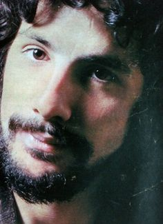 Young bearded Cat Stevens. So gorgeous.