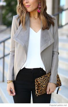 black-jeans-white-tank-and-grey-jacket