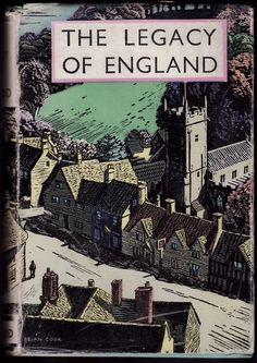 'The Legacy of England' (Batsford 1935) Cover art by Brian Cook