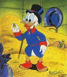 Duck Tales: he had questionable priorities, but I never lost faith in Scrooge McDuck! Les Looney Tunes, Dagobert Duck, Tweety, Uncle Scrooge, Scrooge Mcduck, Duck Tales, Bd Comics, Cartoon Characters, Fictional Characters