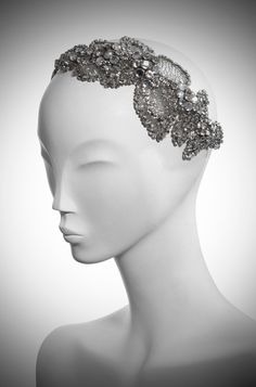 Pictures of Acacia Bridal Headdress II Silver