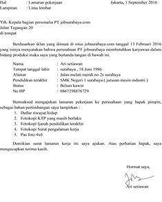 Contoh Surat Pengalaman Kerja Pt Indomarco Prismatama Contoh Lif Co Id