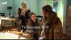 Fur Coat, Tv, Television Set, Fur Coats, Fur Collar Coat, Television